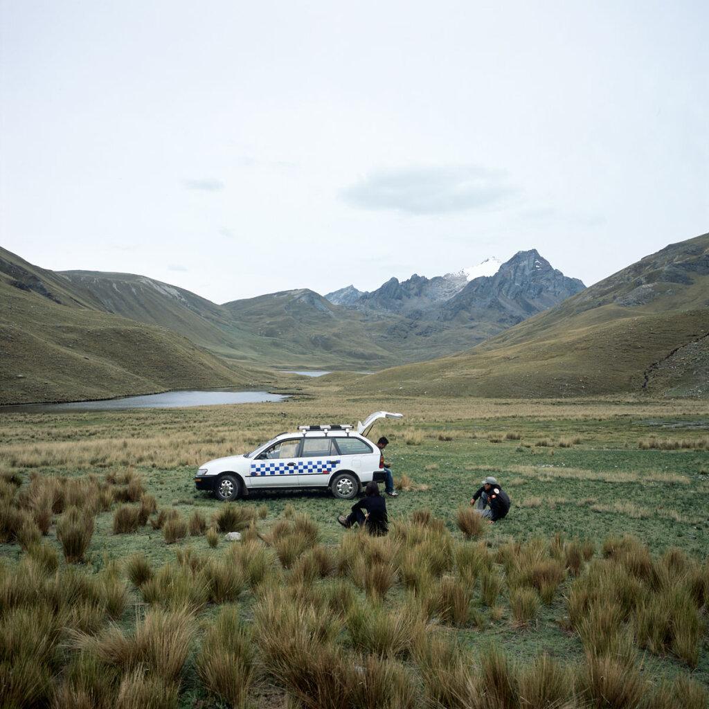 Taxi in the Queshque Valley