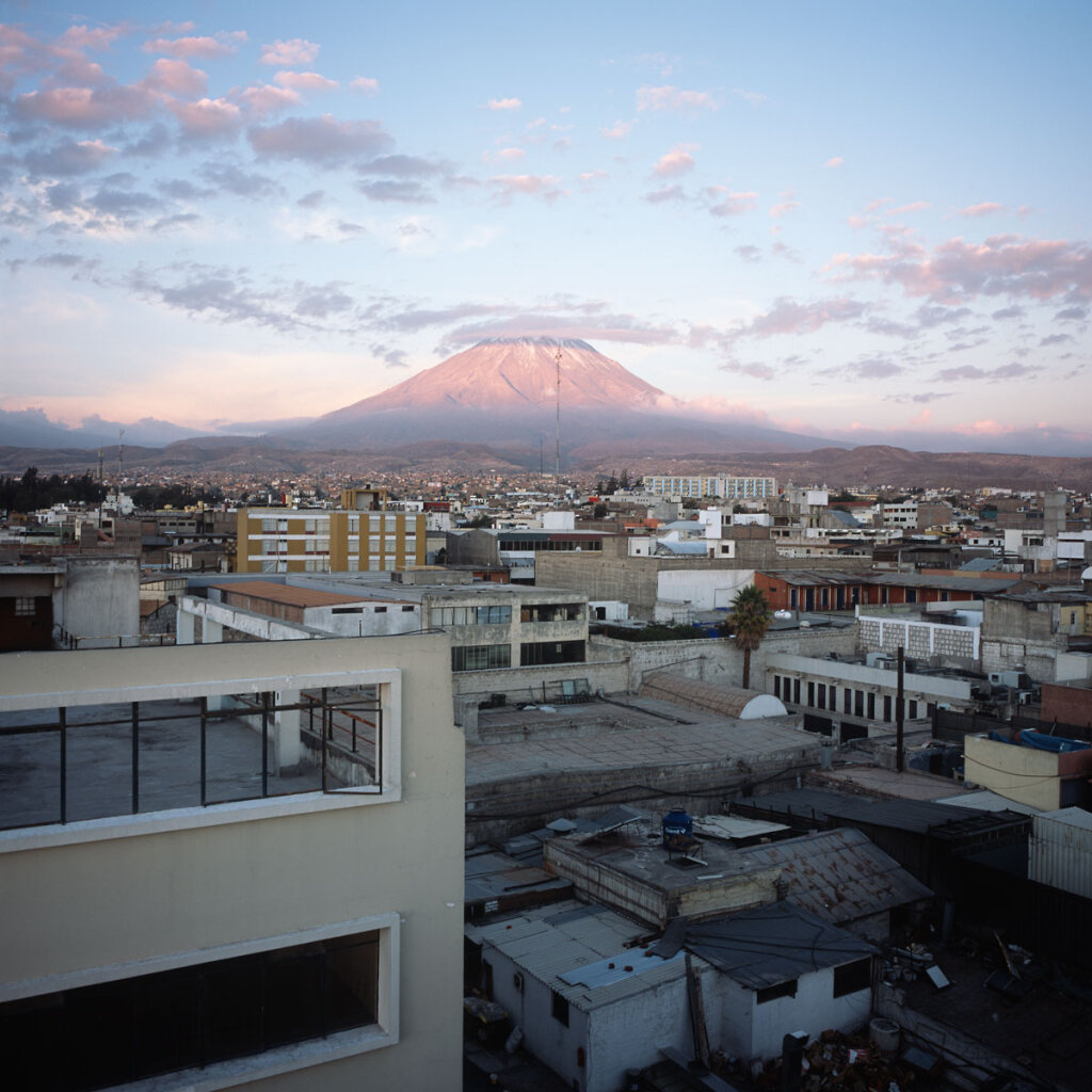 El Misti Volcano and the City of Arequipa