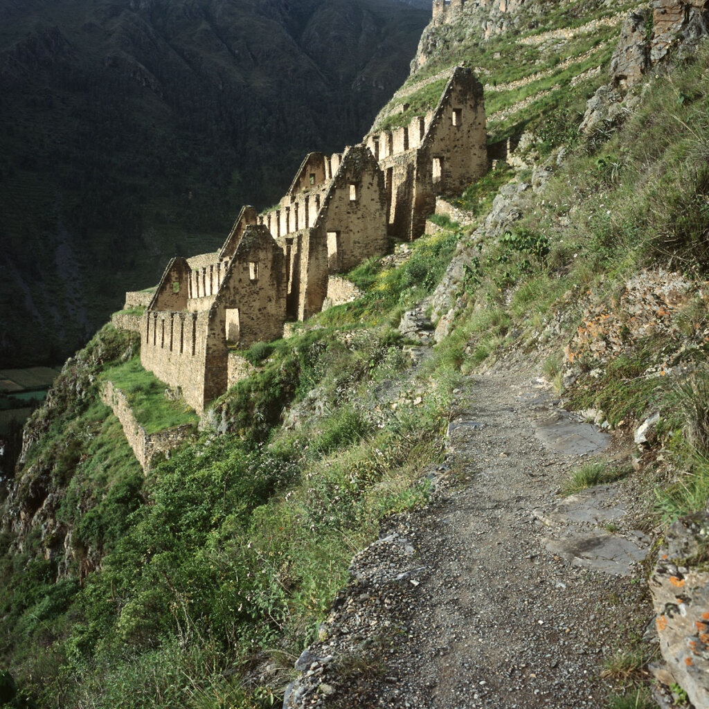 Pinkuylluna Inca Storehouses