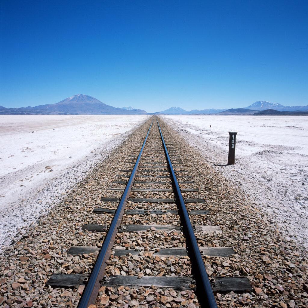 Antofagasta (Chili) & Bolivia Railway, Ollagüe (Chile) to Uyuni (Bolivia) Route