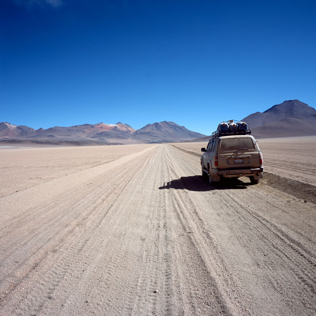 Road to Licancabur