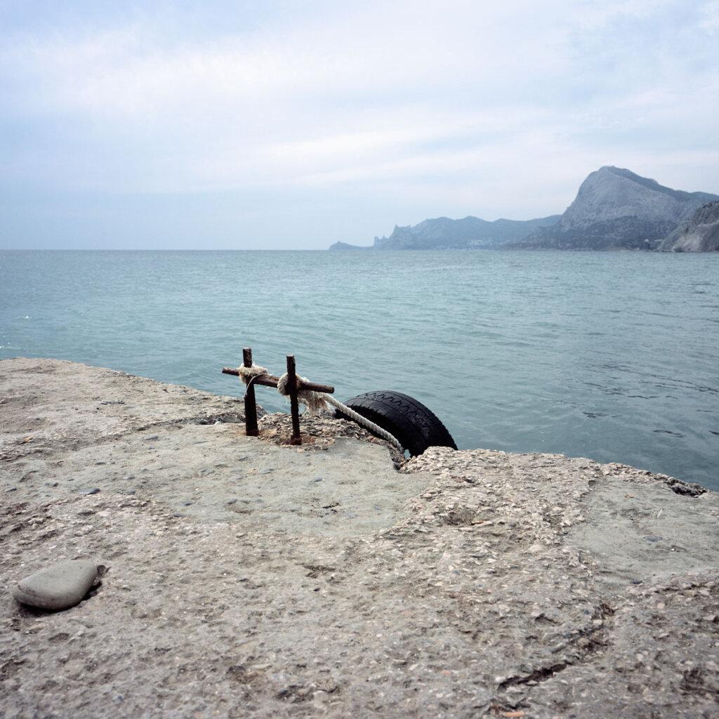 The Black Sea coasline in Sudak