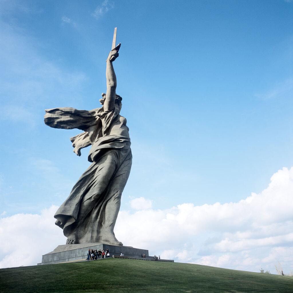 Mamayev Kurgan memorial complex for the Battle of Stalingrad
