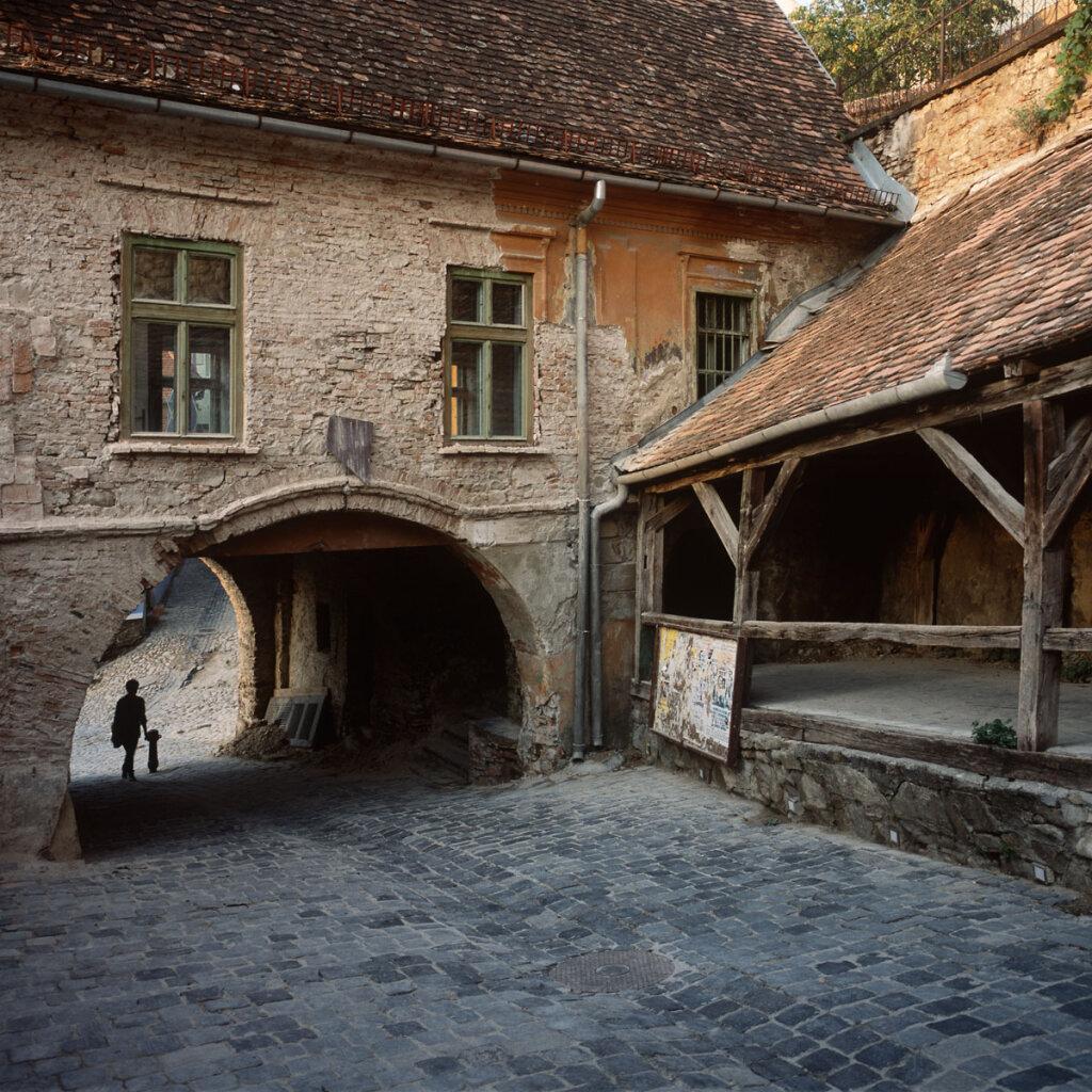Morning in Sibiu