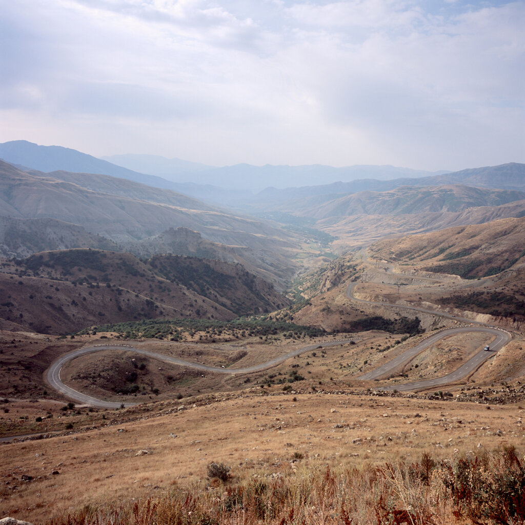 South side of Selim Pass