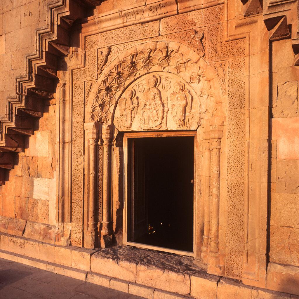 St.Astvatzatzin church facade, Noravank Monastery