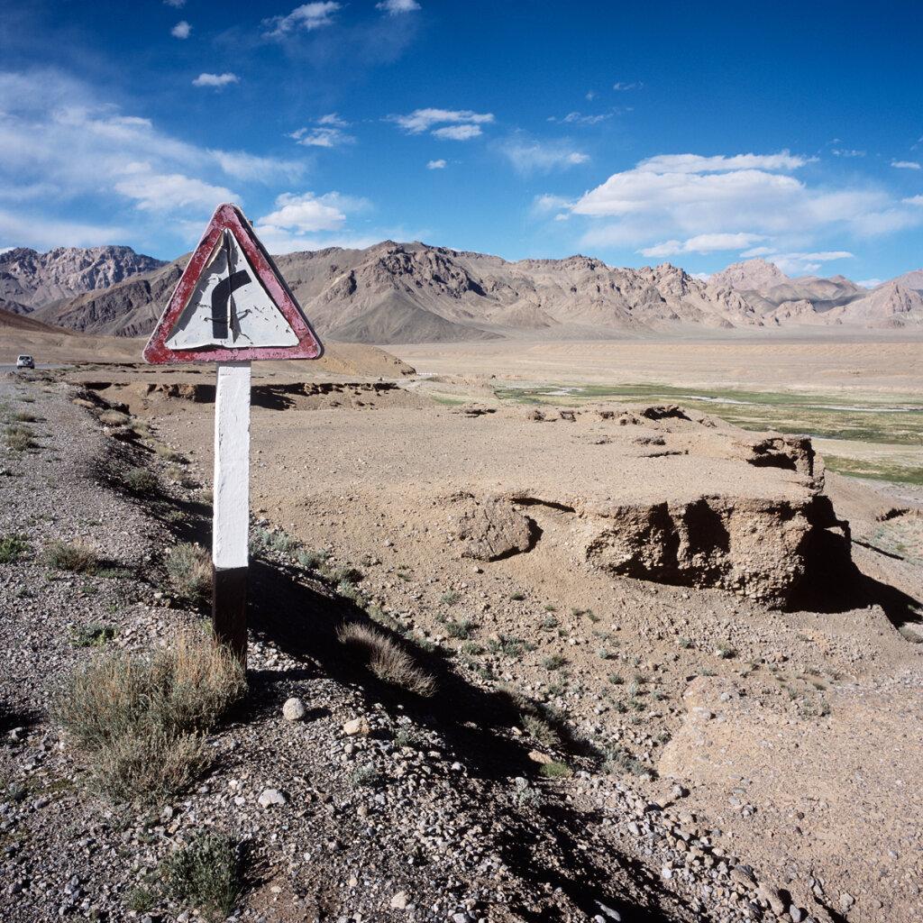 The M41 Highway near Bash Gumbez