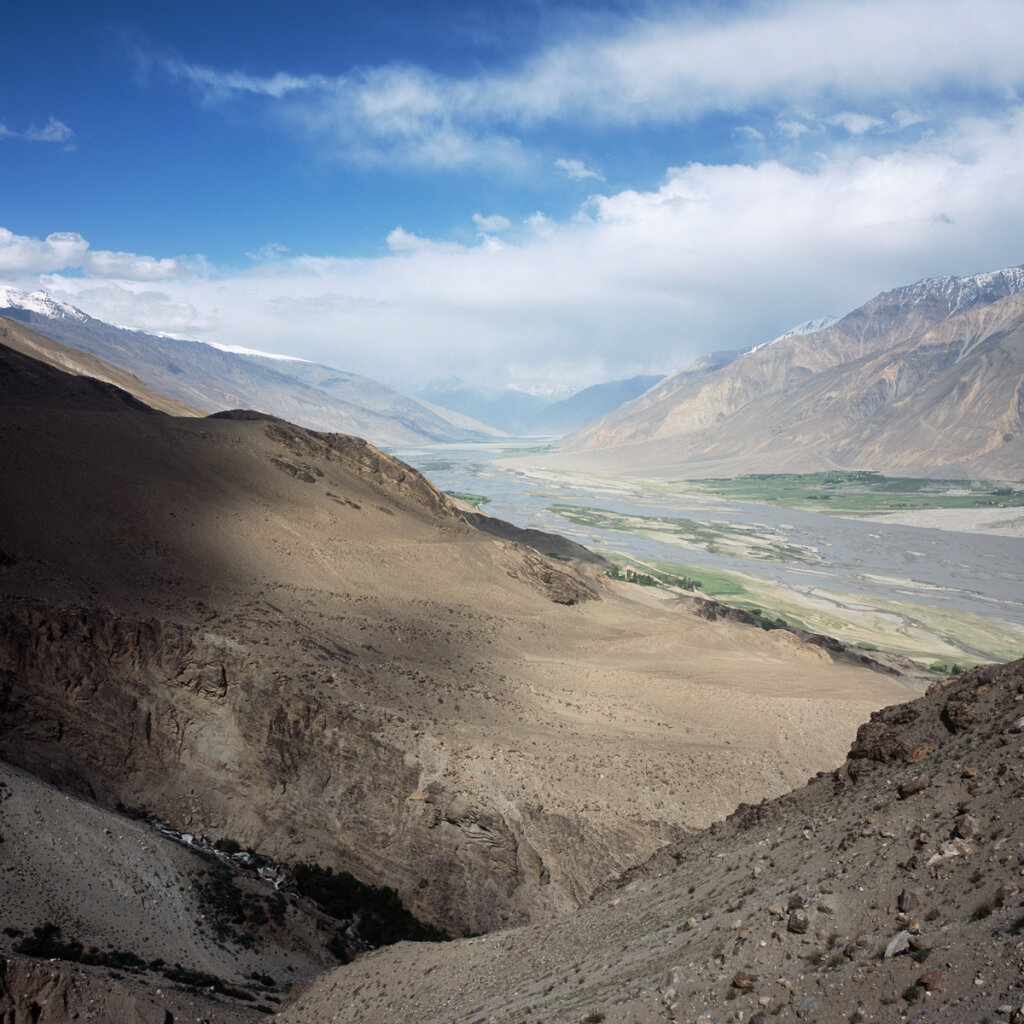 Wakhan River from the Yamchun Fortress