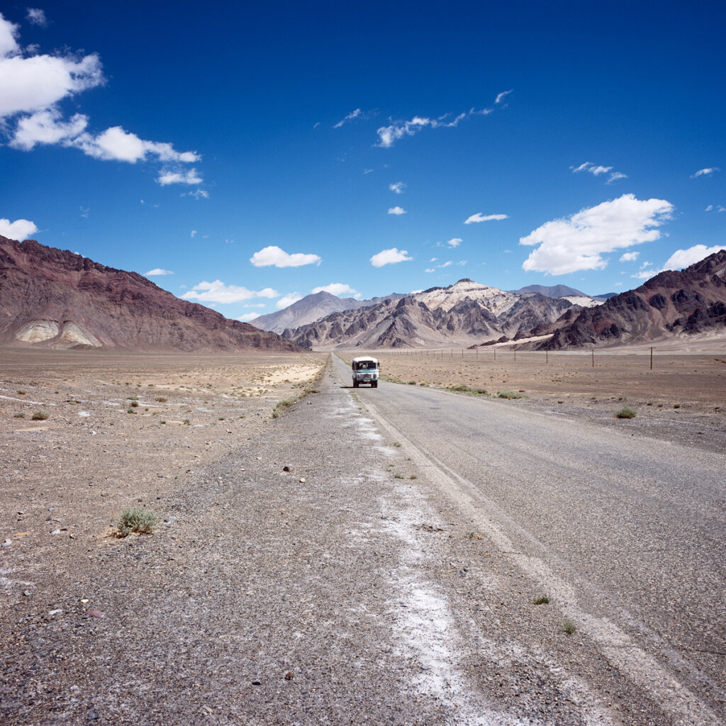 Public transporation near Karakul