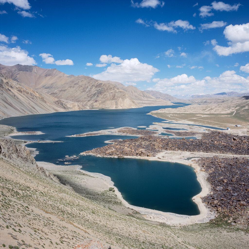 Lake Yashilkul (Яшилькуль Oзерo)