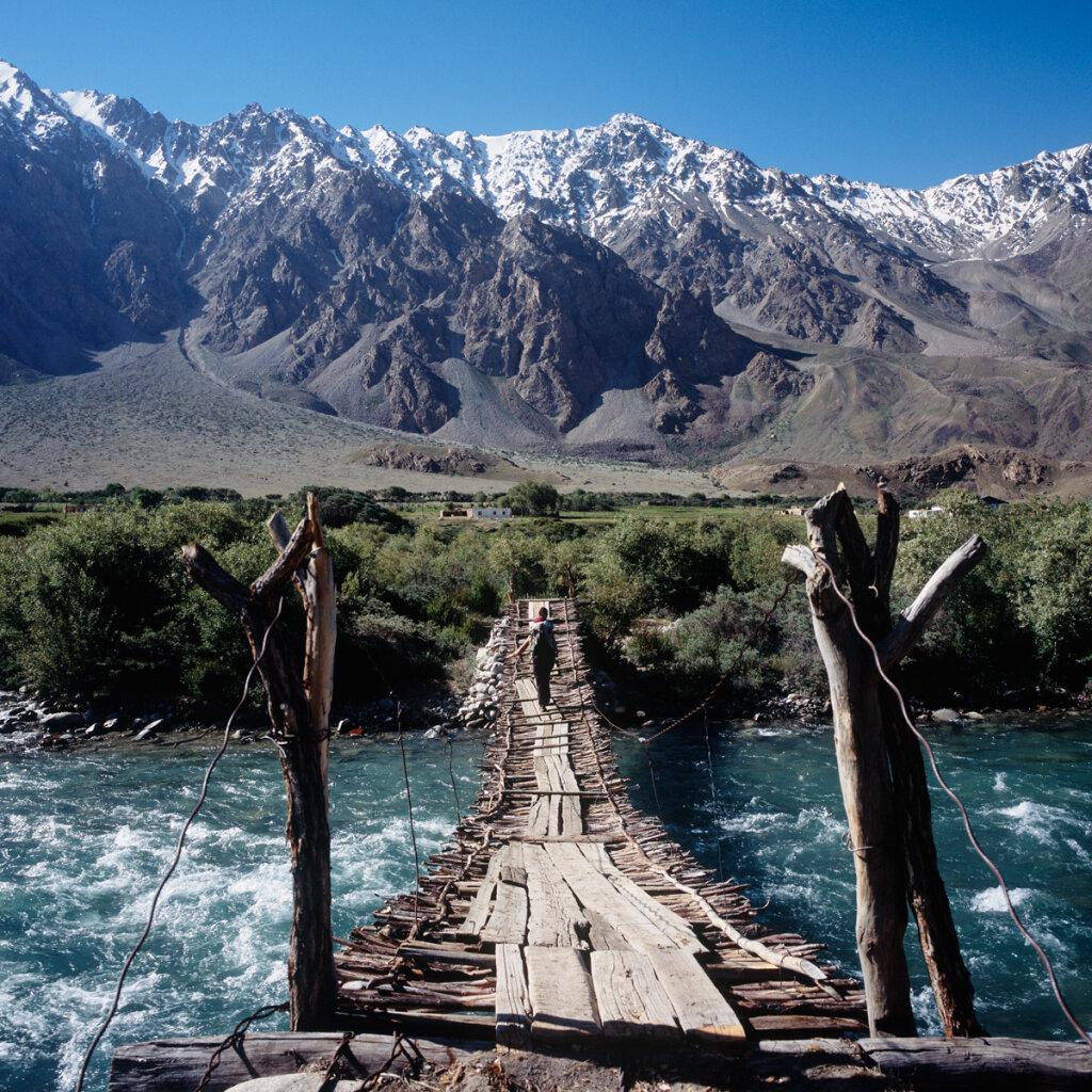 Bridge in the Bachor Village