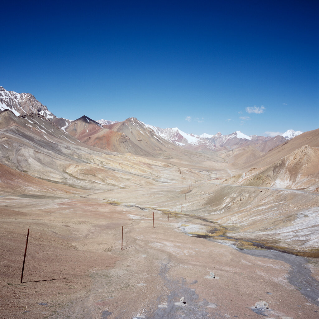 Looking north from the Ak-Baital Pass