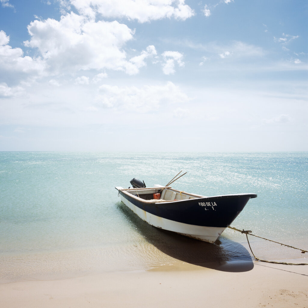 Caribbean fishing boat
